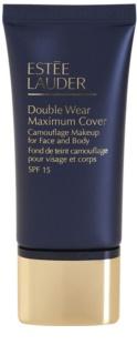 Estée Lauder Double Wear Maximum Cover base de maquillaje cubre imperfecciones para rostro y cuerpo