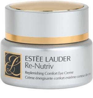 Estée Lauder Re-Nutriv Replenishing Comfort crema de ochi hidratanta impotriva ridurilor si a punctelor negre