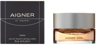 Etienne Aigner In Leather Man Eau de Toilette para homens 75 ml