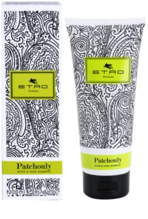Etro Patchouly gel douche mixte 200 ml pour cheveux et corps