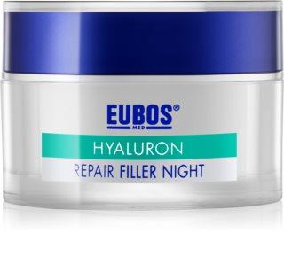 Eubos Hyaluron crema regeneradora de noche antiarrugas