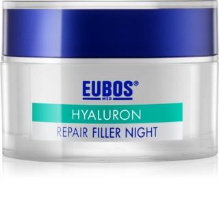 Eubos Hyaluron αναγεννητική κρέμα νύχτας ενάντια στις ρυτίδες