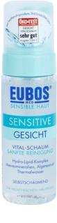 Eubos Sensitive mousse nettoyante pour apaiser et fortifier la peau sensible