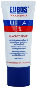 Eubos Dry Skin Urea 5% θρεπτική κρέμα νύχτας για ευαίσθητη και δυσανεκτική επιδερμίδα