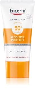 Eucerin Sun Sensitive Protect Protective Face Cream SPF50+