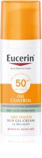 Eucerin Sun Oil Control ochranný krémový gel na obličej SPF 50+