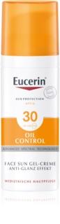 Eucerin Sun Oil Control kremowy żel ochronny do twarzy SPF 30