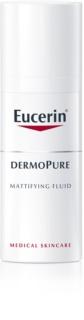 Eucerin DermoPure emulsão matificante  para pele problemática
