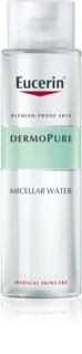 Eucerin DermoPure agua micelar limpiadora para pieles problemáticas