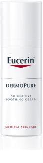 Eucerin DermoPure nyugtató krém bőrgyógyászati pattanások elleni kezelésre