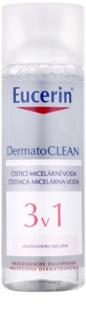 Eucerin DermatoClean мицеларна почистваща вода 3 в 1