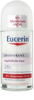 Eucerin Deo deodorant roll-on fara continut de aluminiu pentru piele sensibila
