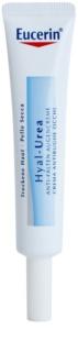 Eucerin Hyal-Urea crema antiarrugas contorno de ojos para pieles secas y atópicas