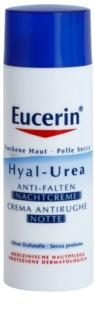 Eucerin Hyal-Urea nočna krema proti gubam za suho in atopično kožo