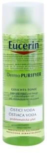Eucerin Dermo Purifyer eau nettoyante pour peaux à problèmes, acné