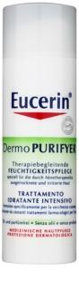 Eucerin Dermo Purifyer creme hidratante diário para pele problemática, acne