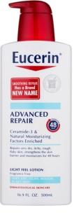 Eucerin Smoothing Repair Light Body Milk For Dry Skin