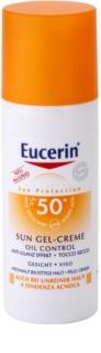 Eucerin Sun crème-gel protectrice visage SPF 50+