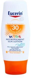 Eucerin Sun Kids mleczko do opalania dla dzieci z mikropigmentami ochronnymi  SPF 30