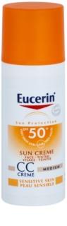 Eucerin Sun creme CC  SPF 50+