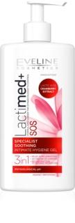 Eveline Cosmetics Lactimed+ gel de toilette intime pour peaux irritées