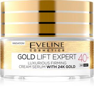 Eveline Cosmetics Gold Lift Expert crema de lujo reafirmante con oro de 24 quilates