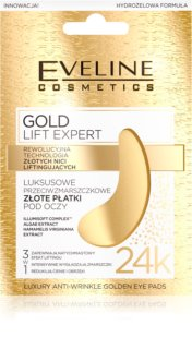 Eveline Cosmetics Gold Lift Expert masque yeux anti-enflures et anti-cernes