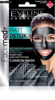 Eveline Cosmetics FaceMed+ mascarilla facial para pieles mixtas y grasas