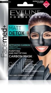 Eveline Cosmetics FaceMed+ máscara de pele para pele oleosa e mista