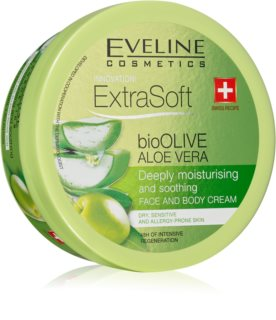 Eveline Cosmetics Extra Soft hydratisierende und beruhigende Creme für empfindliche Oberhaut