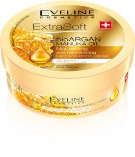 Eveline Cosmetics Extra Soft creme hidratante para rosto e corpo com óleo de argan