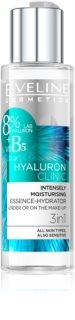 Eveline Cosmetics Hyaluron Clinic sérum hidratante intensivo  3 em 1