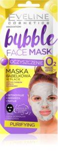 Eveline Cosmetics Bubble Mask máscara em película com efeito de limpeza