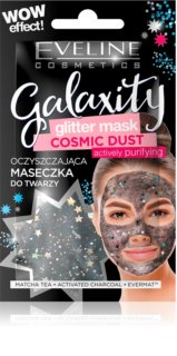 Eveline Cosmetics Galaxity Glitter Mask Cleansing Mask with Glitter