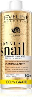 Eveline Cosmetics Royal Snail água micelar com efeito regenerador
