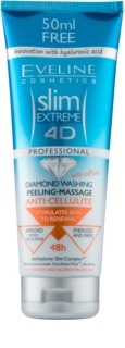 Eveline Cosmetics Slim Extreme Douchepeeling Massage Gel  tegen Cellulite