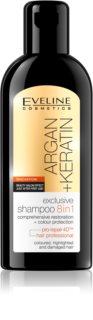 Eveline Cosmetics Argan + Keratin σαμπουάν 8 σε 1