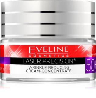 Eveline Cosmetics Laser Therapy Total Lift crème jour et nuit anti-rides 50+