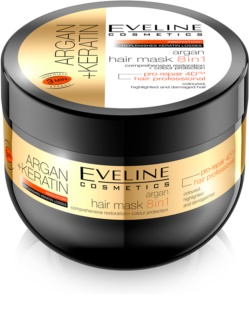 Eveline Cosmetics Argan + Keratin Mask for Hair 8 In 1