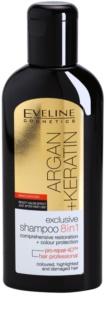 Eveline Cosmetics Argan + Keratin шампунь 8 в 1