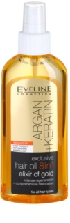 Eveline Cosmetics Argan + Keratin Haaröl 8 in 1