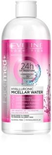 Eveline Cosmetics Face Med+ mizellares Wasser mit Hyaluron 3in1