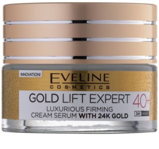 Eveline Cosmetics Gold Lift Expert luxuriöse festigende Creme mit 24 Karat Gold