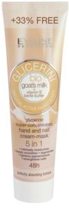 Eveline Cosmetics Glycerine krém na ruky a nechty s kozím mliekom