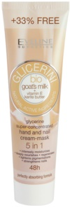 Eveline Cosmetics Glycerine крем за ръце и нокти с козе мляко