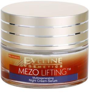 Eveline Cosmetics Mezo Lifting multiregenerační noční krém - sérum