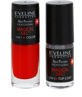 Eveline Cosmetics Nail Therapy Professional гел лак за нокти без използване на UV/LED лампа