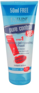 Eveline Cosmetics Pure Control Cleansing Gel 3 In 1