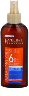 Eveline Cosmetics Sun Care olejek ochronny do opalania w sprayu SPF 6