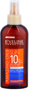 Eveline Cosmetics Sun Care олио за тен SPF 10